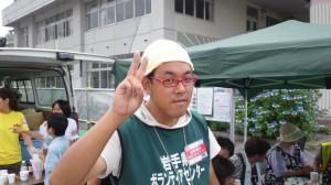 大槌社協のリーダー石井さん