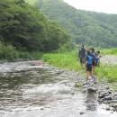 カッパ隊と川遊び