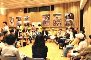 関西同窓会による 「第一回・災害ボランティア報告会」