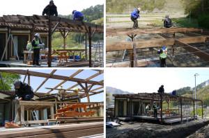 20130508屋根設置作業