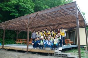 20130531はーぶ屋根完成