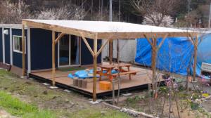 郷1の屋根