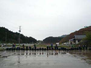 花巻市立石鳥谷中学校生徒