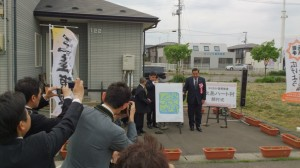盛岡市長もご列席されての開村式