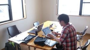 シンプルな・・オフィスです。