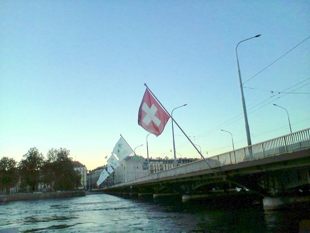 スイス国旗。(証拠のために。笑)