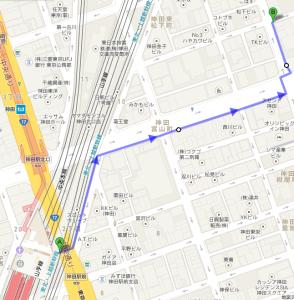 神田→東京事務所