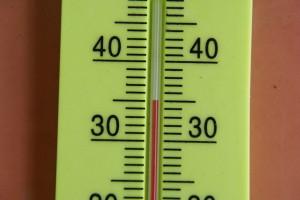 お昼の遠野本部でこれくらいの気温です